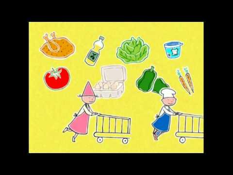 DESSIN ANIME -la cuisine est un jeu d'enfant-