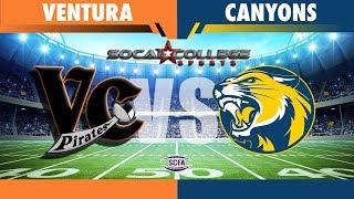 SCFA Football: Week 9 - Ventura at Canyons - 6pm PDT