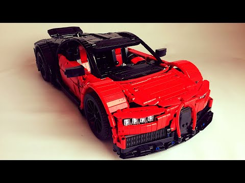 Bugatti Chiron Lego Technic Moc Instructions