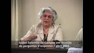 Ajuda para vencer a compulsão, com a médium Isabel Salomão de Campos.