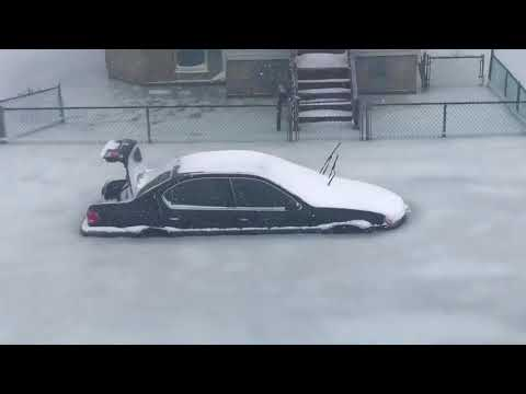 Winter Storm 2018: Flooding at Short Beach in Revere turns cars into icebergs