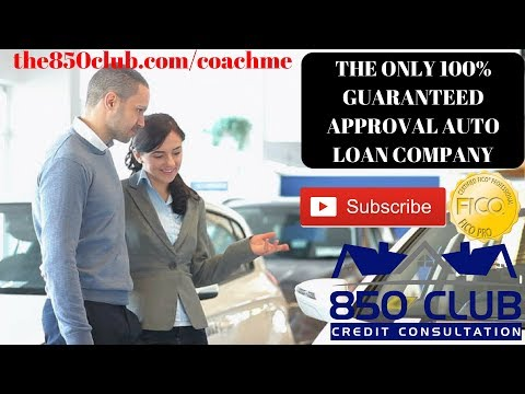 The Only 100% Guaranteed Approval Auto Loan Bank Regardless Of FICO Credit Score,Repo, Bankruptcy