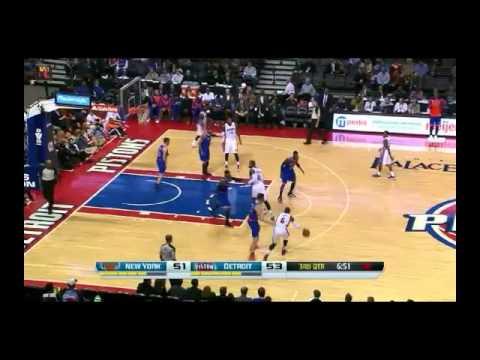NBA CIRCLE - New York Knicks Vs Detroit Pistons Highlights 19 Nov. 2013 www.nbacircle.com