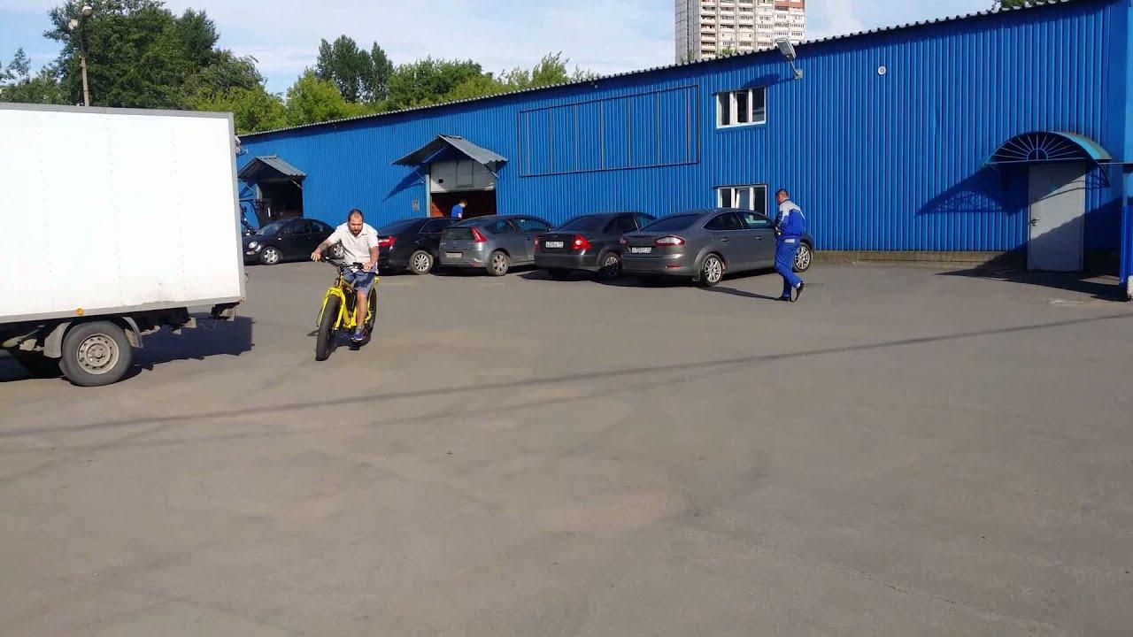 Электровелосипед Volteco BIGCAT DUAL - горный внедорожник! - YouTube