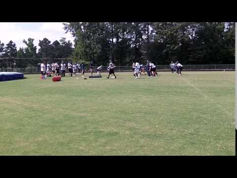 Grimsley Whitlies football practice at Grimsley High School on 8/2/16