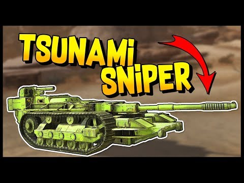 "Crossout - INSANE MATCHES! ""The Tsunami Sniper"" - Crossout Gameplay"