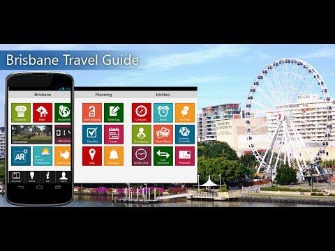 Brisbane Travel Android App Promo - Pangea Guides