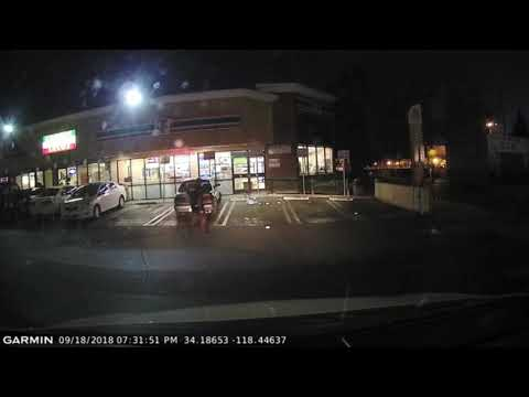 Beer Run Caught On Garmin 45 Dash Cam