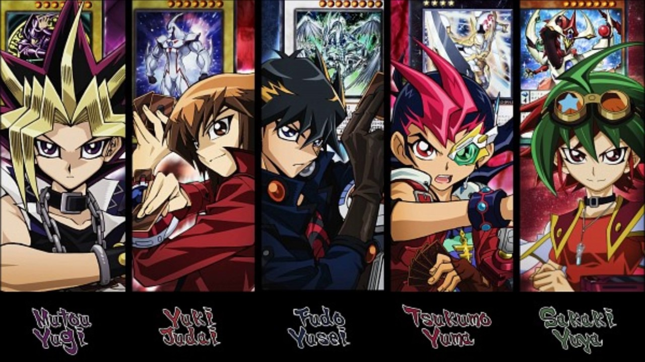 YuGiOh Main Character Theme Music Compilation(Duel ...