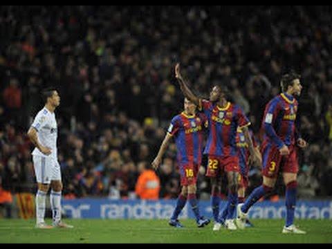 Barcelona vs Real Madrid 5 0 La Liga 2010 Full Match Highlights