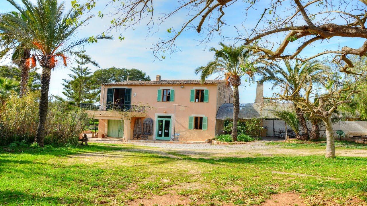 Casa de campo mallorquin en un gran terreno con establos mallorca inmobiliaria youtube - Casa de campo mallorca ...