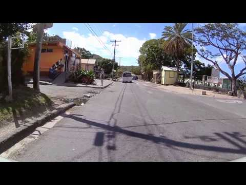 Driving in Antigua - Old Parham Road to Morris Bay