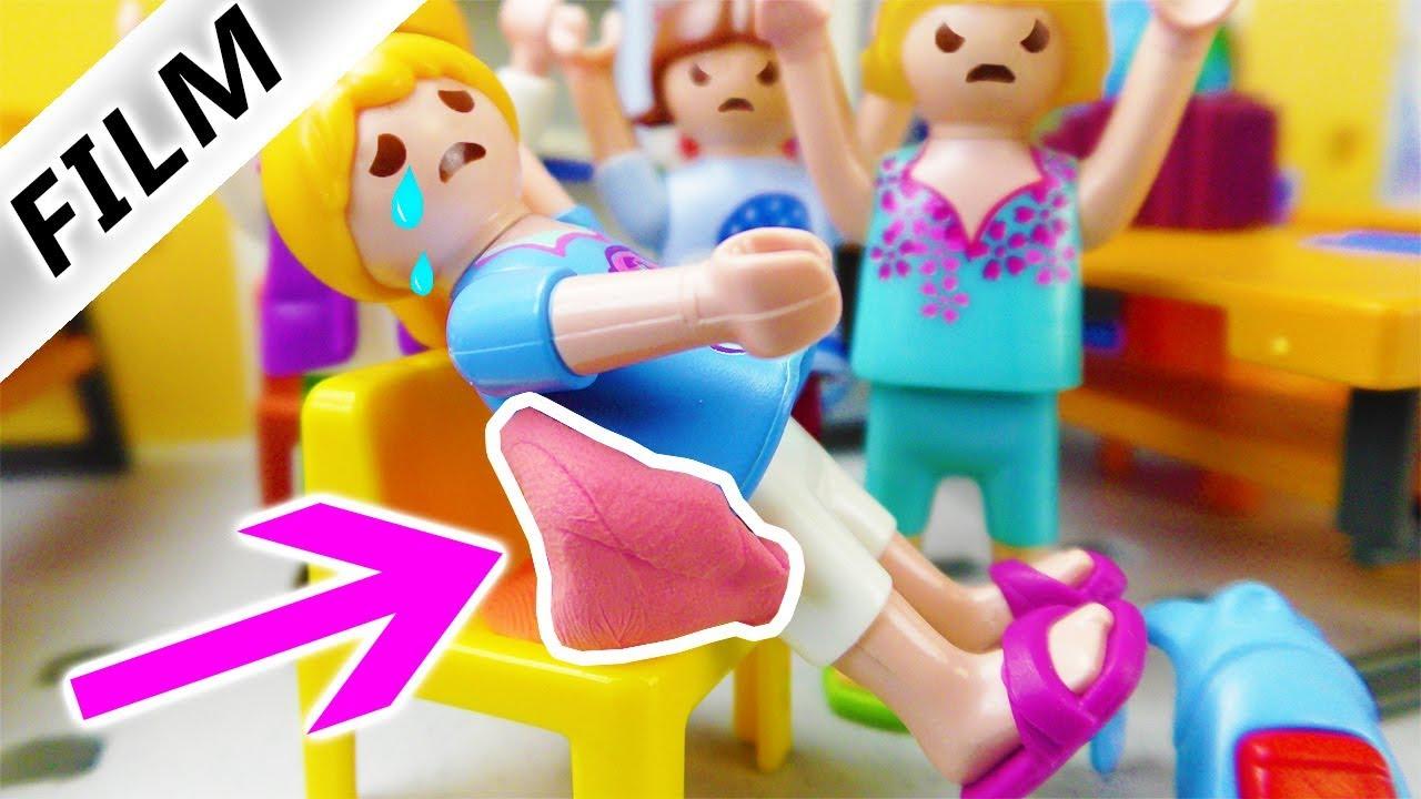 Playmobil Film Deutsch Kaugummi Klebt An Hannah Fiese Mädchen