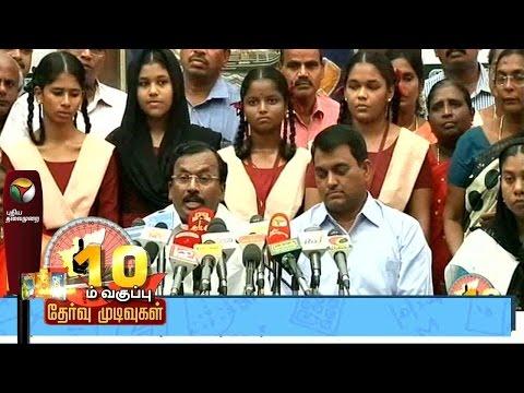 TN SSLC results: Chennai Mayor Saidai Duraisamy praises corporation school students