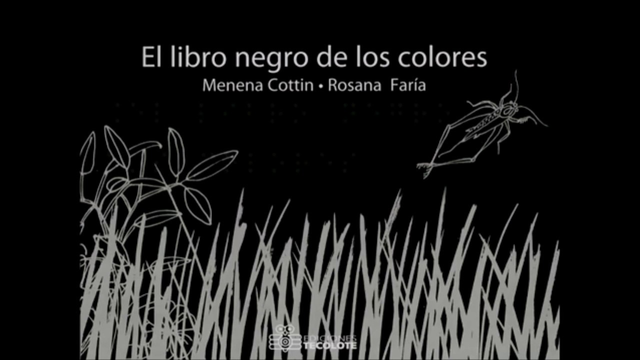 El libro negro de los colores - YouTube