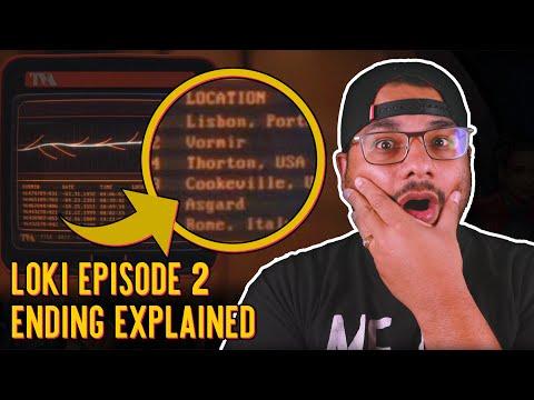 Loki Episode 2: Ending Explained | Geek Culture Explained