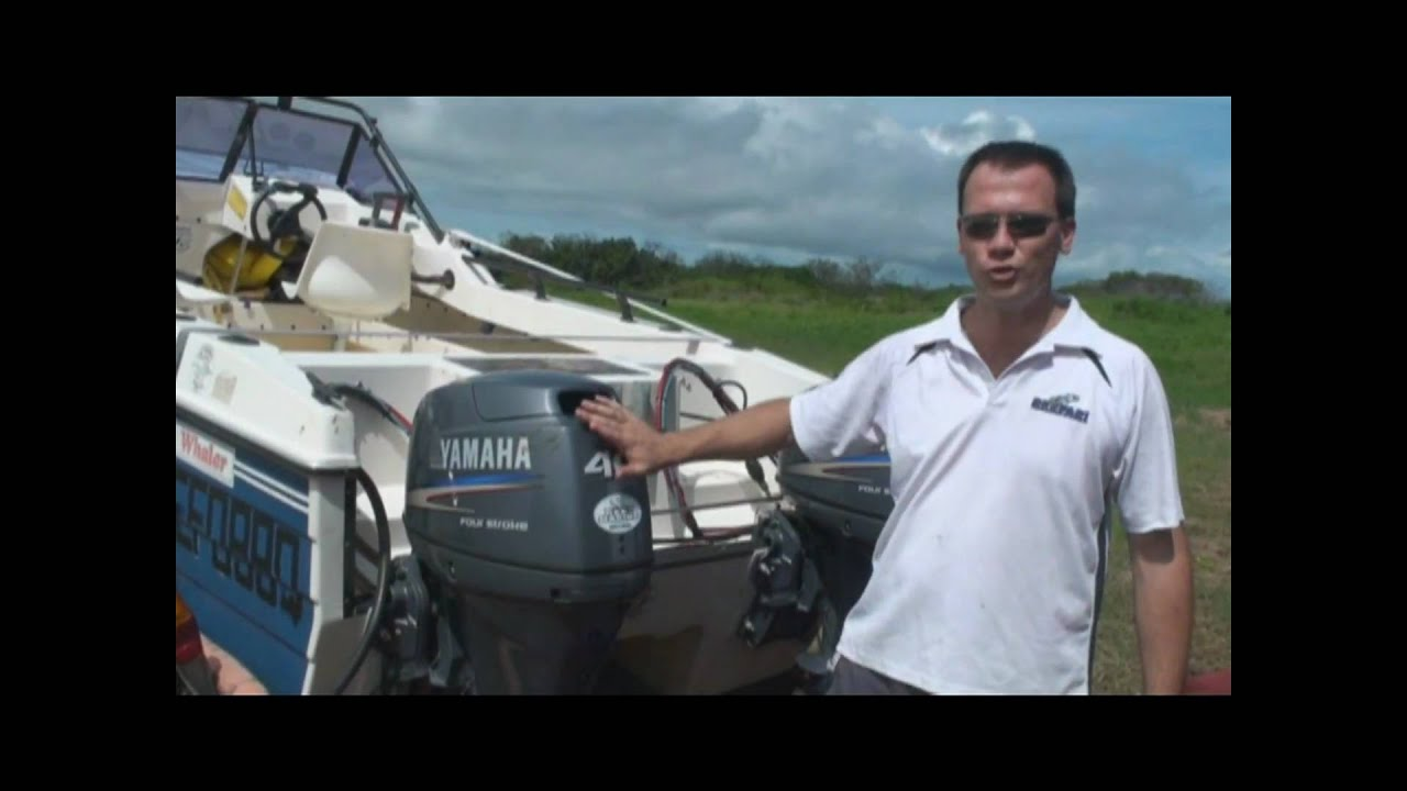 How to service an outboard motor 4 stroke yamaha youtube for How to winterize yamaha outboard