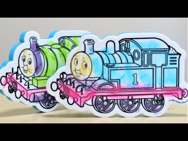 Thomas & Friends Coloring and color removal Percy James Gordon RiChannel