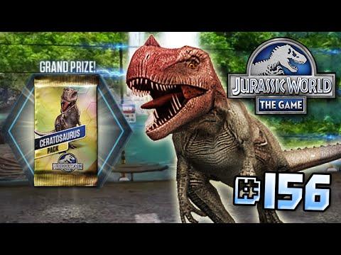 Full Ceratosaurus Event!    Jurassic World - The Game - Ep 156 HD
