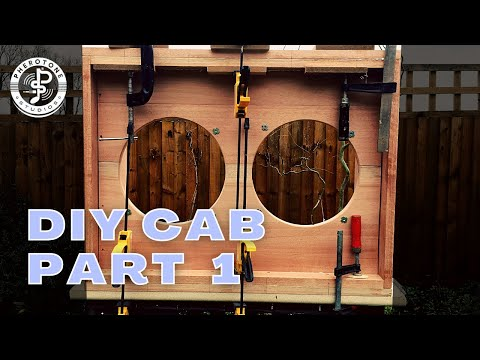 How to build a 2x12 guitar speaker cabinet - part 1