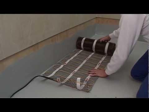 wet room installation video fitting the under floor. Black Bedroom Furniture Sets. Home Design Ideas