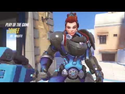 Overwatch: Zohee's POTG New Hero Brigitte!