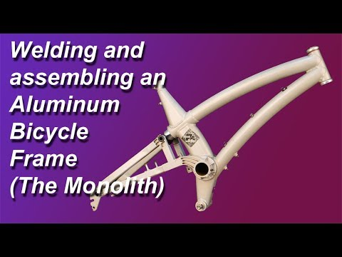 Assembling and Welding an Aluminum Bicycle Frame