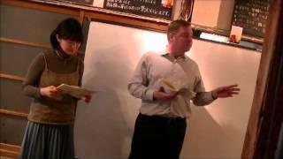 Toy Box Reading Recital, 2016.2.7, マシュー・ホロメキーと佐藤恵美の...