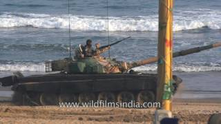 protecting the coast of india t 72 ajeya main battle tank of indian army
