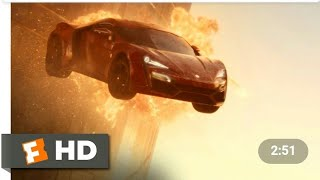 Best scene of fast and furious 7 jumping from 2 buildings in hindi Thumb