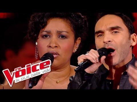David Bowie – Life on Mars   Fabienne Della Moniqua VS Akram Sedkaoui  The Voice France 2014  Battle