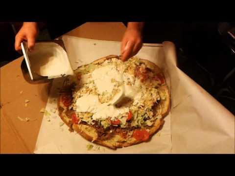 Imbis kebab bułka mega big