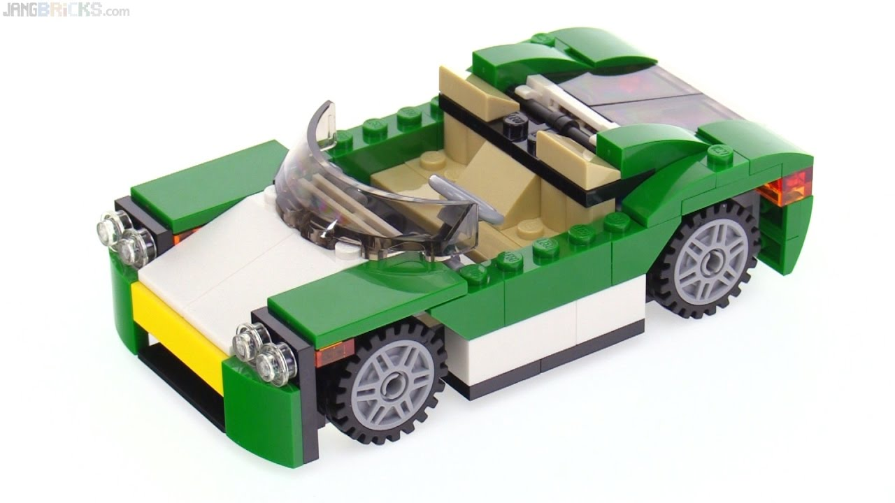 lego creator green cruiser 3 in 1 review 31056 youtube. Black Bedroom Furniture Sets. Home Design Ideas