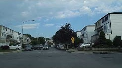 Driving by New Springville in Staten Island,New York