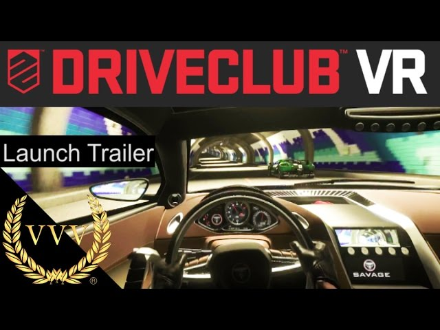Driveclub VR Launch Trailer