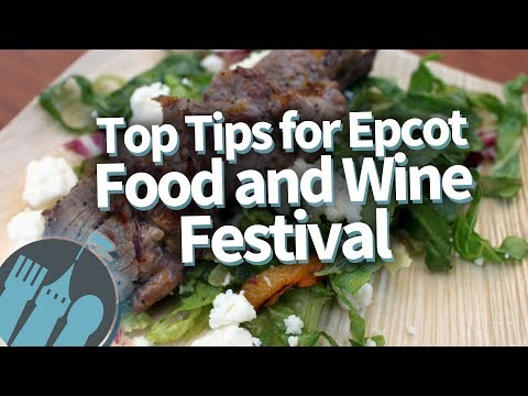 Top Tips for the Epcot Food and Wine Festival!