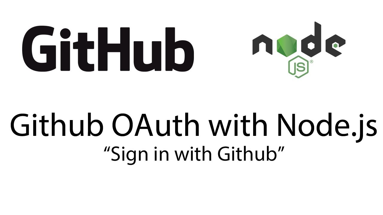 Github OAuth using Node js (MERN) (Sign in with Github)
