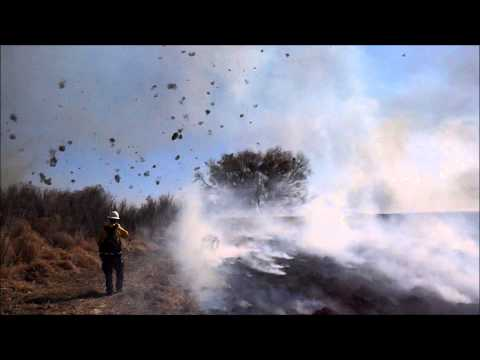 Massive Dust Devil Hurls Flaming Tumbleweeds At Colorado Firefighters