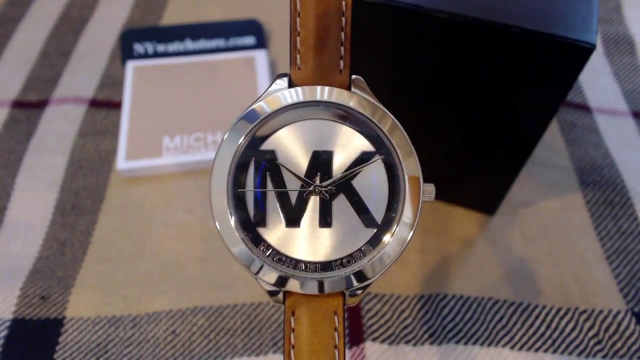 f5889aa38c09 Women s Michael Kors Slim Runway Watch MK2326 - YouTube