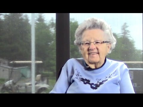 Schmidt family history interview with Rosabelle (Schmidt) Johnson - full, unedited footage