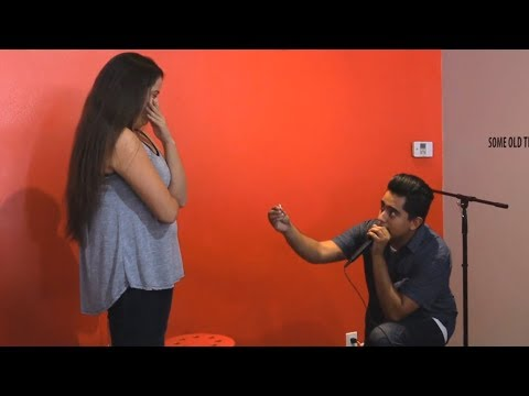 FAN PROPOSES IN FRONT OF 20k VIEWERS - CX FACTOR