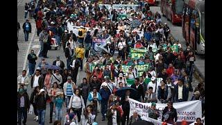 Estas serán las vías más afectadas en Bogotá por marchas estudiantiles de este jueves