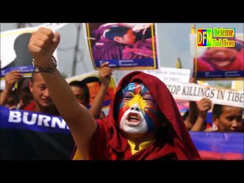 Tibet, Taiwan, Hong Kong And Xinjiang Seeking Independence From Communist China