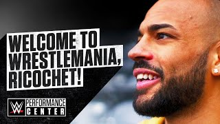 Welcome to WrestleMania, Ricochet