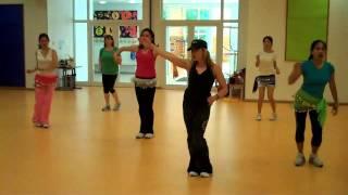 Zumba Choreography to Baila Esta Cumbia