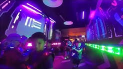 Trevor's Big 10 Laser Tag Party at Main Event