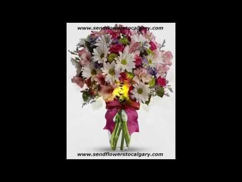 Send flowers from South Korea to Calgary Alberta Canada