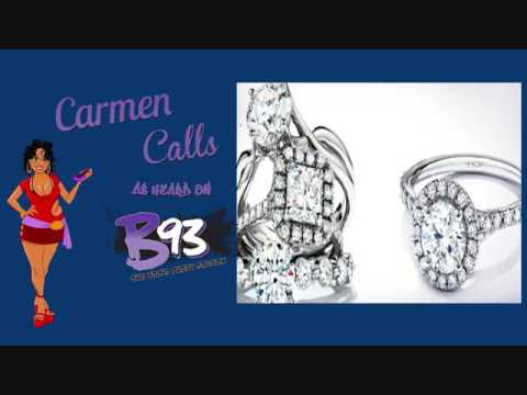 Carmen Calls And Now Owns A Jewelery Store