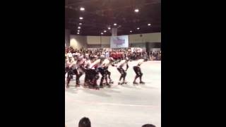 Naptown Tornado Sirens Introduction at 2012 WFTDA Champions
