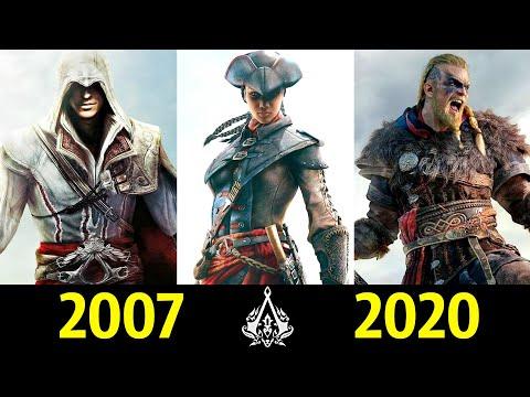 Assassin s creed серия игр по порядку